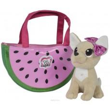 Собачка Chi Chi Love Чихуахуа Фешн Фруктовая мода с сумочкой 18 см 5893116