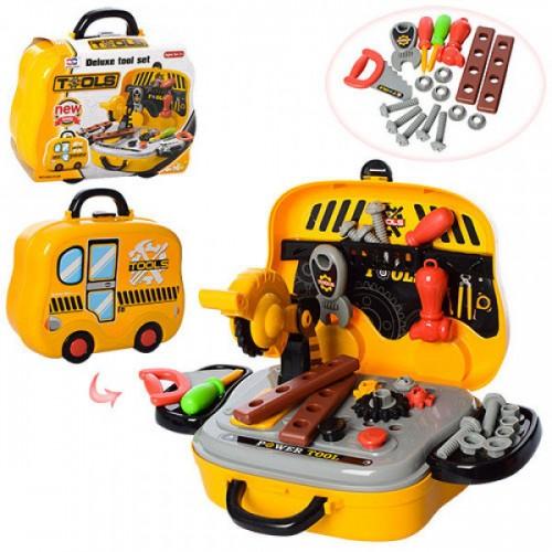 Набор инструментов 008-916A, 27 предметов, в чемодане (на колесах)