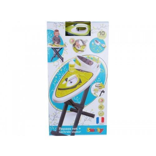 Гладильная доска с утюгом и аксессуарами Smoby 330114