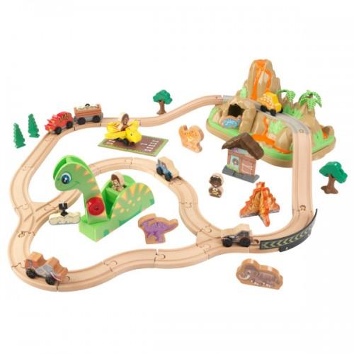 Железная дорога Kidkraft  динозавр 18016