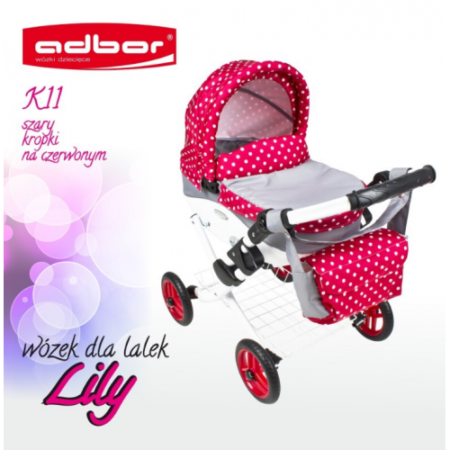Коляска для кукол Adbor Lily