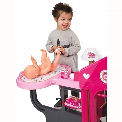 Игровой центр Smoby 220318 Baby Nurse по уходу за куклой 6 в 1