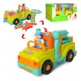 Логическая машинка-конструктор 6109 Hola toys