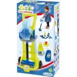 Игровой набор Ecoiffier Тележка для уборки с вертикальным пылесосом (001761)