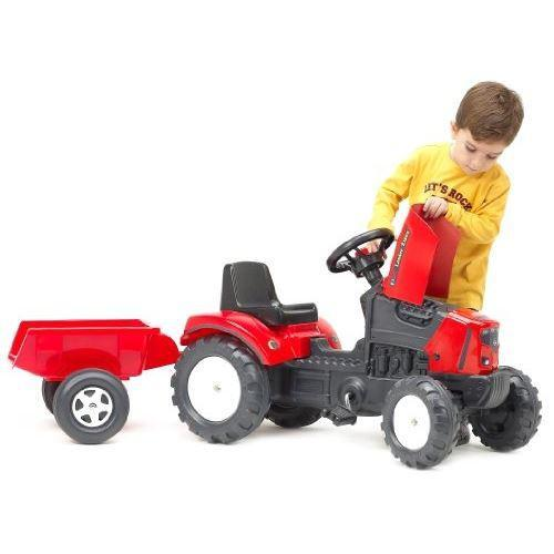 Педальный трактор с прицепом FALK Lander 2030AC