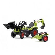 Детский трактор на педалях Falk 2070Y CLAAS ARION 430