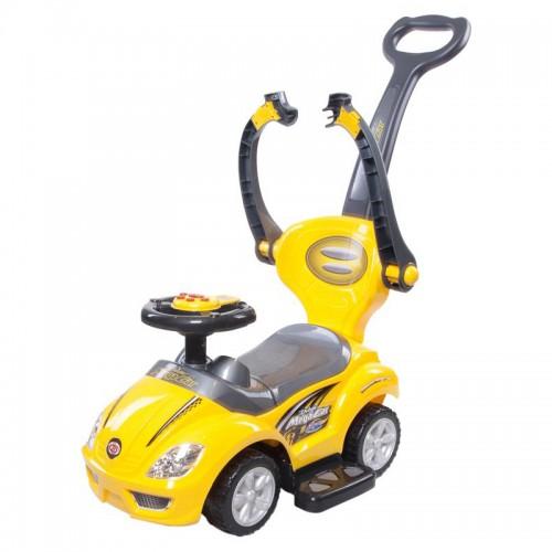 Машинка-каталка с ручкой Sun Baby Mega Car