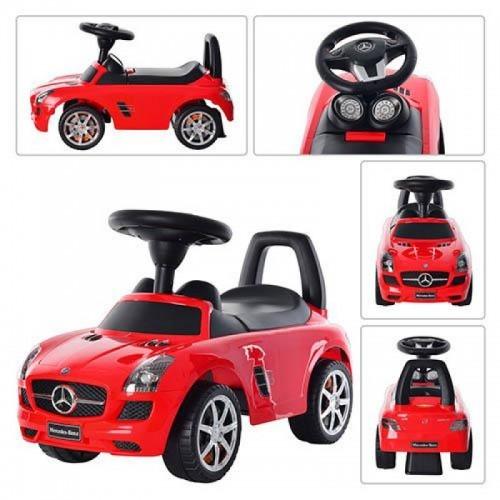 Каталка-толокар Bambi Z 332-3 Mercedes-Benz красный