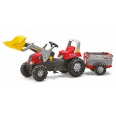 Педальный трактор Rolly toys 811397