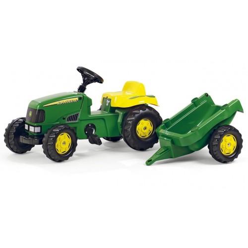 Трактор педальный Kid John Deere Rolly Toys 12190