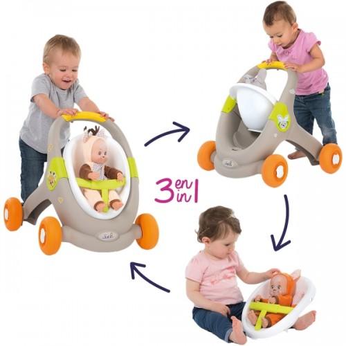 Ходунки-коляска для кукол Smoby Minikiss