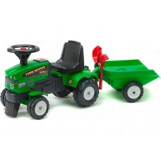 Трактор каталка с прицепом FALK 1081
