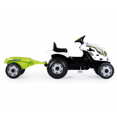 Трактор педальный Smoby XL 710113 с прицепом