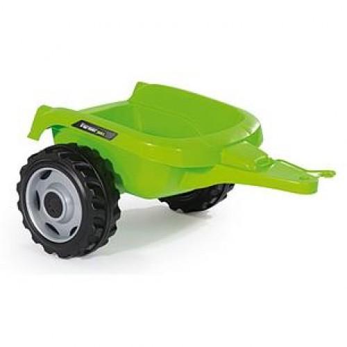 Трактор педальный c прицепом и ковшом Smoby Farmer Max 710109