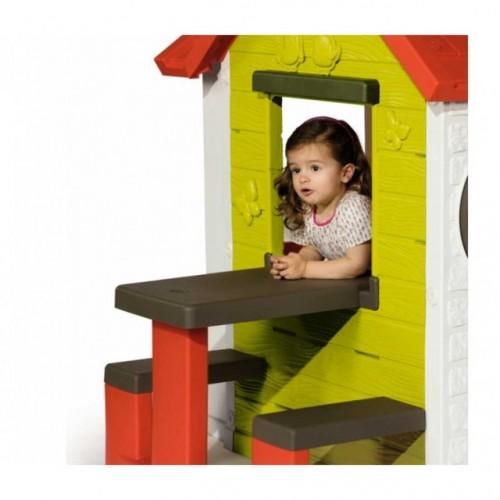 Детский домик со столом Smoby 810401 My House