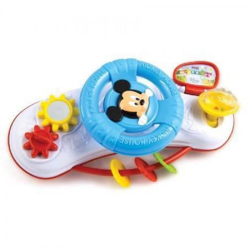 Игрушка развивающая Clementoni Руль на коляску Микки Маус