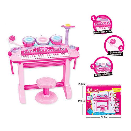 Пианино-синтезатор Beauty 105A со стульчиком