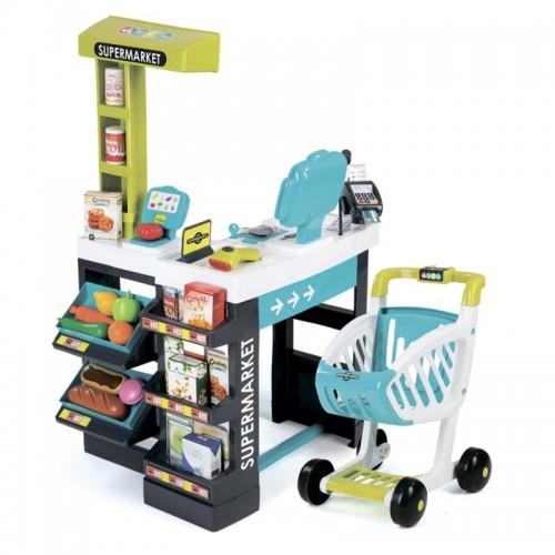 Интерактивный супермаркет с тележкой Smoby 350206