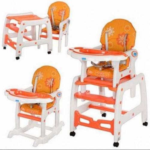 Стульчик для кормления Bambi M 1563 оранжевый