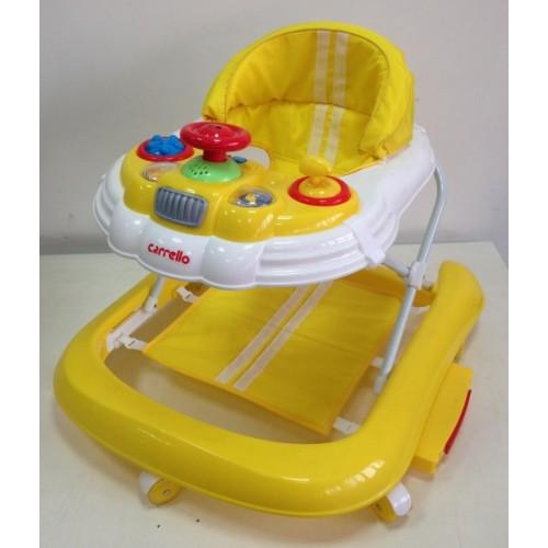 Купить Детские ходунки CARRELLO  CRL-9601 желтый