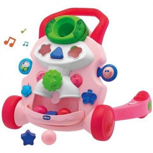 Ходунки-центр игровой Chicco Первые шаги (розовый) 65261.20