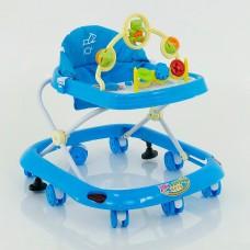 Детские музыкальные ходунки модель 258 (голубой)l