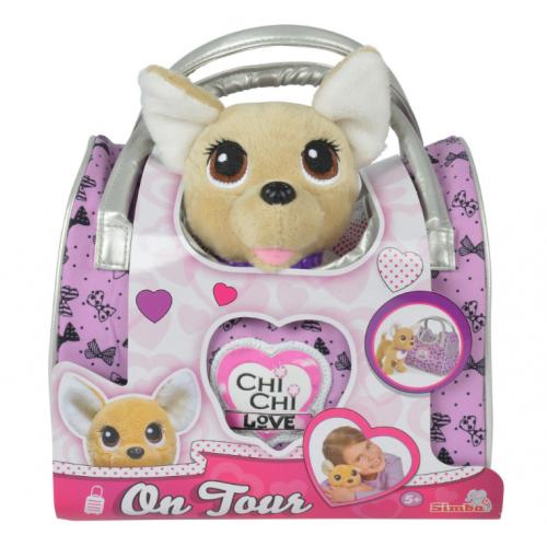 Собачка Simba Chi Chi Love  Фешн Вояж с сумочкой 5893124