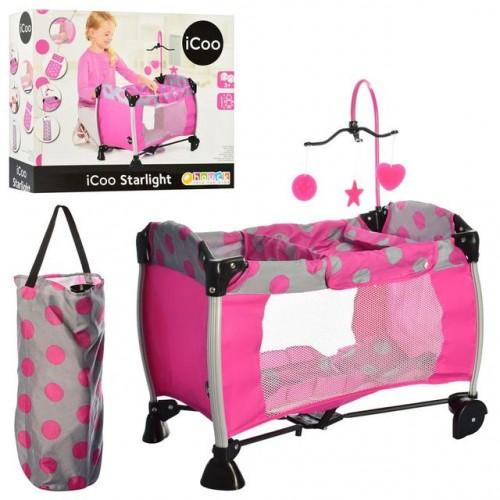 Манеж-кровать для куклы HAUCK i'coo D-90648