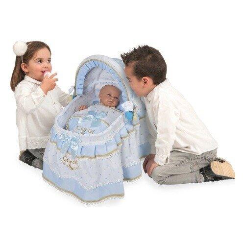 Кроватка для куклы DeCuevas с козырьком Кэрол 51127