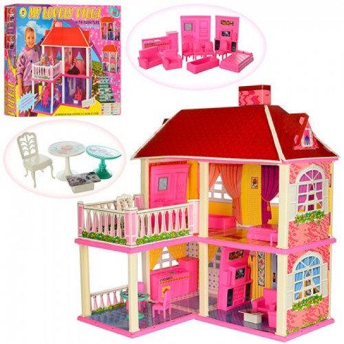 Кукольный домик 6980 с мебелью