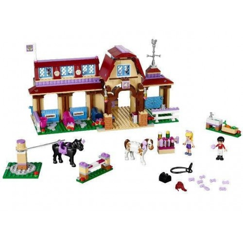 Конструктор Bela Friends 10562 Клуб верховой езды в Хартлейке (аналог LEGO Friends 41126), 594 детали