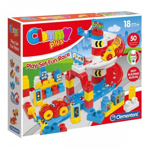 Конструктор Гонки 2 машинки Clementoni