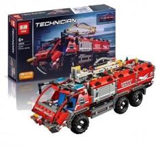 """Конструктор Lepin Technicain 20055 (аналог Lego Technic 42068 ) """"Спасательный транспорт для аэропорта"""" 1094 дет"""
