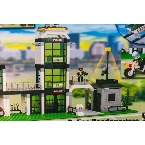 """Конструктор Brick 110 """"Полицейский участок"""" 430 деталей"""