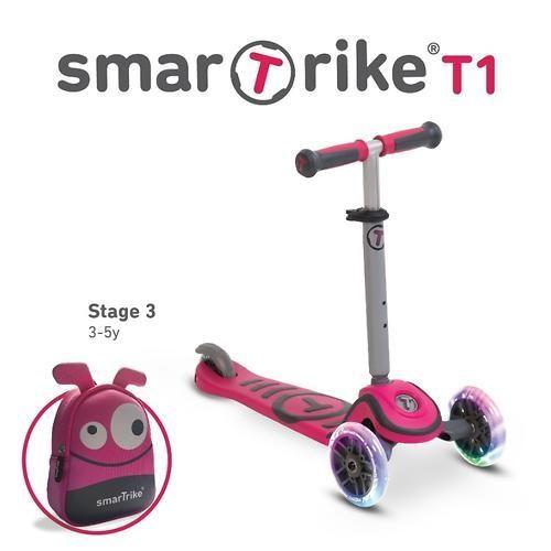 Трехколесный самокат Smart Trike Scooter T1