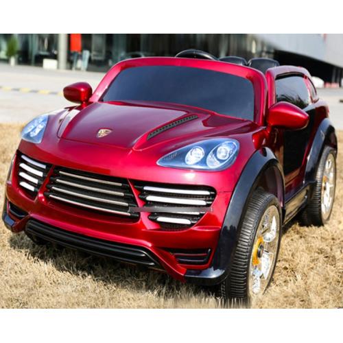 Детский электромобиль Porsche Cayenne FT 2128 в автопокраске бордовая