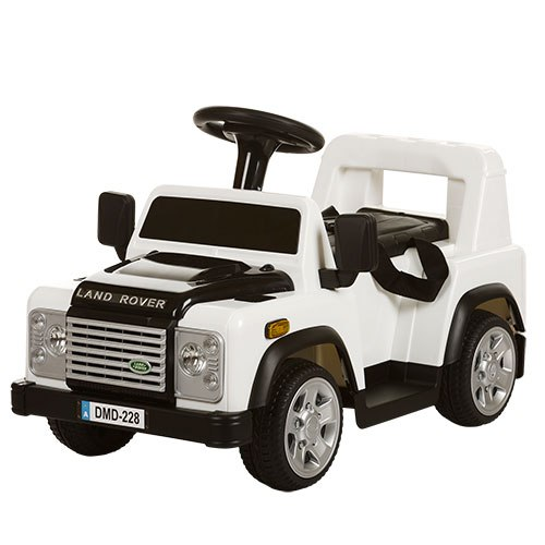 Детский электромобиль Land Rover M 3163 BR-1 , белый
