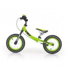 Детский беговел Milly Mally Young (зеленый)