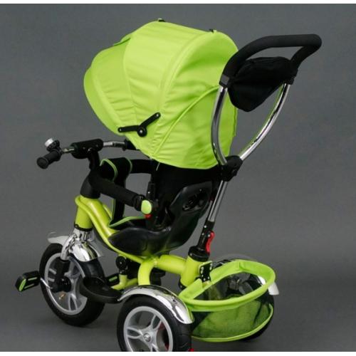 Велосипед трехколесный Best Trike Надувные Колеса 05388 зеленый