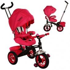 Велосипед трехколесный Turbo Trike M 3195-1A, розовый
