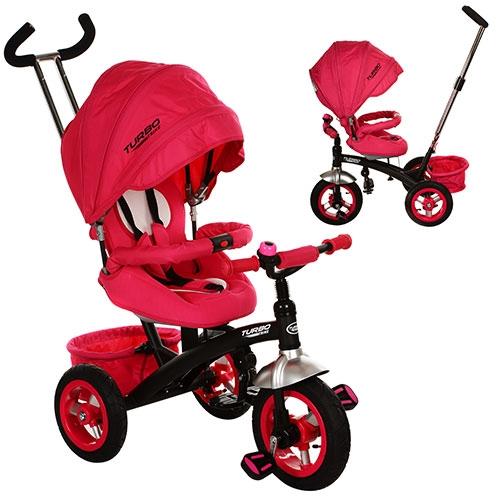 Купить велосипед трехколесный Turbo Trike M 3195-1A, розовый