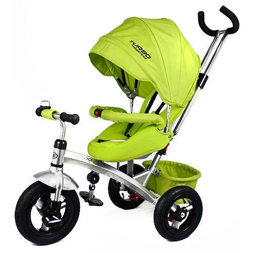 Велосипед Turbo Trike с поворотным сиденьем M 3194  зеленый