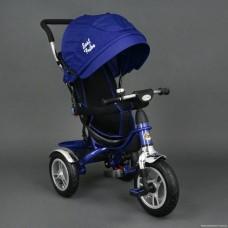 Велосипед трехколесный Best Trike Надувные Колеса 05388 синий