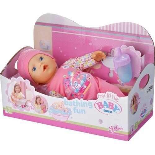 Пупс My Little Baby Born Zapf Creation с памперсом и поилкой 819722