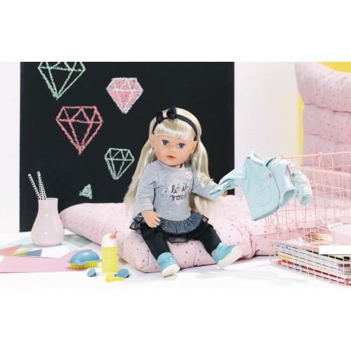 """Интерактивная кукла Baby Born """"Сестренка Модница"""" 43 см Zapf Creation 824245"""