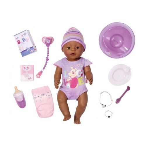 Интерактивный пупс Baby Born Очаровательная малышка Мулатка Zapf Creation 822029