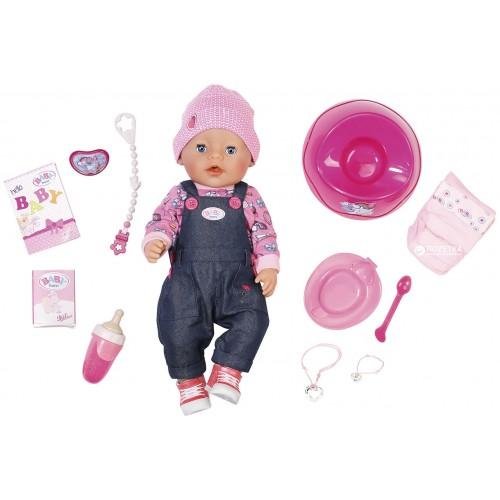 Кукла Baby born Джинсовый стиль с аксессуарами (824238)