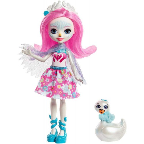Кукла Enchantimals Саффи Лебедь (Saffi Swan) Mattel, FRH38