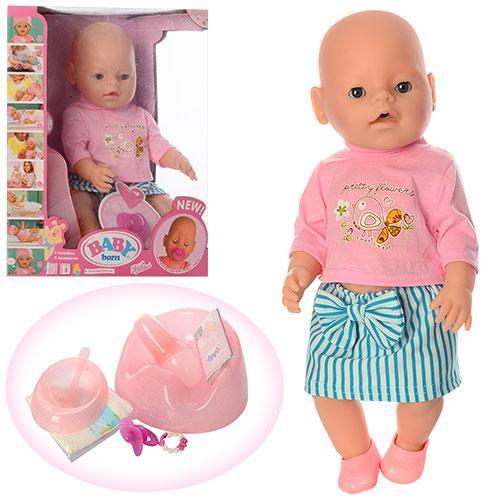 """Пупс """"Baby Born"""" (Бэби берн)8006-454 функциональный"""