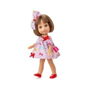 Кукла Berjuan Люси в розовом платье, 22 см